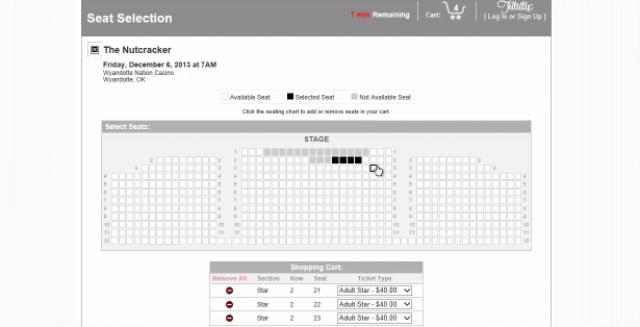 SeatPOWER Online Seat Selector