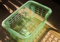 Dance Recital Organization Tip: Laundry Baskets