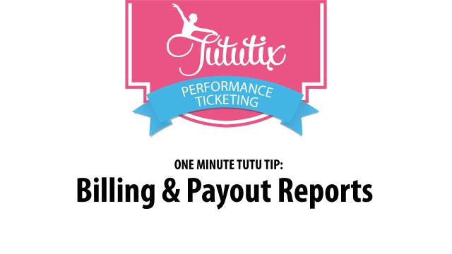 Billing Report
